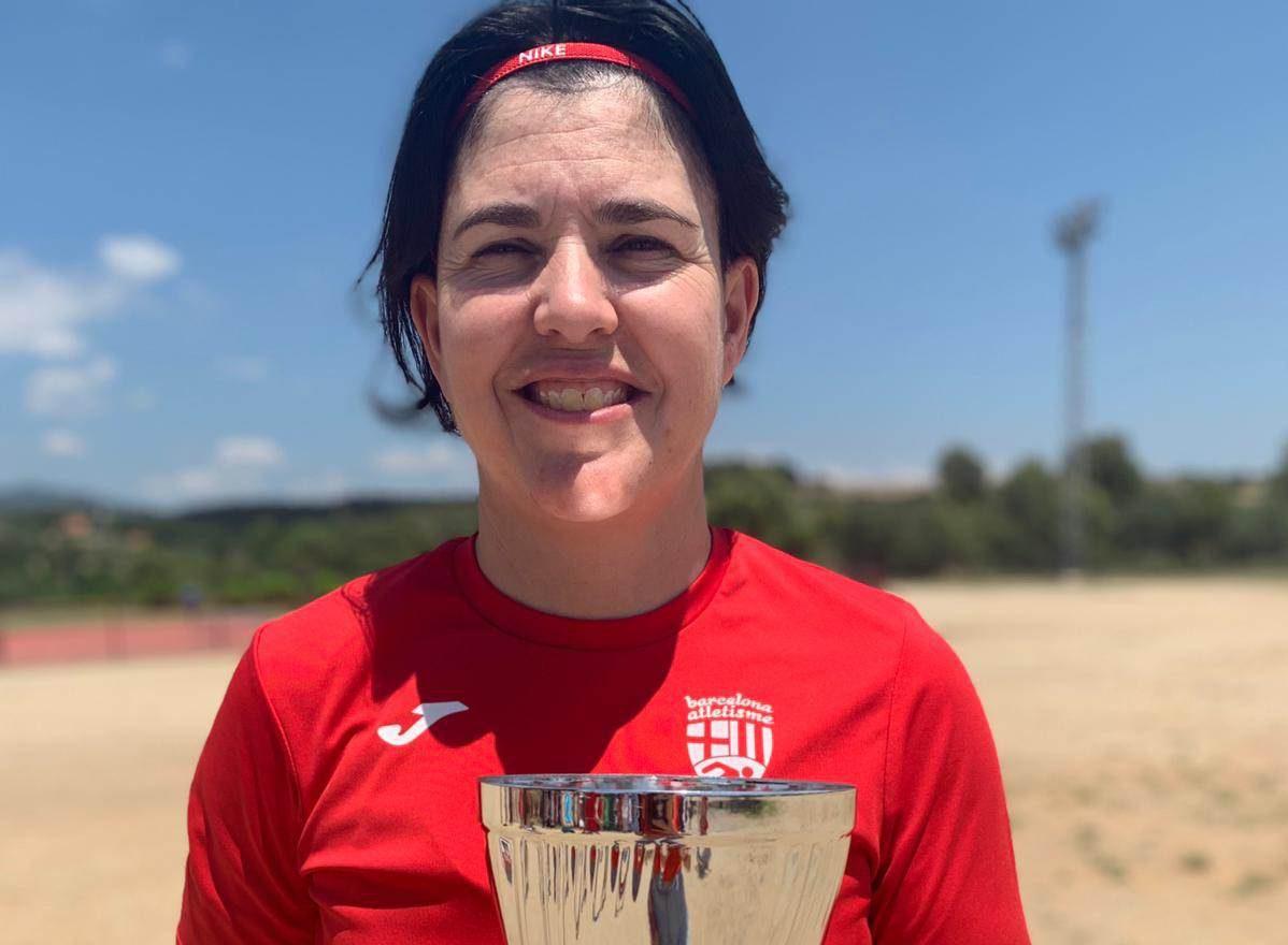 Sonia Bocanegra guanya el Campionat de Catalunya de Clubs d'atletisme femení màster