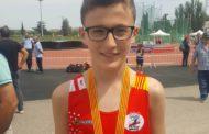 Alejandro Muñoz guanya el Campionat de Catalunya aleví en salt d'alçada