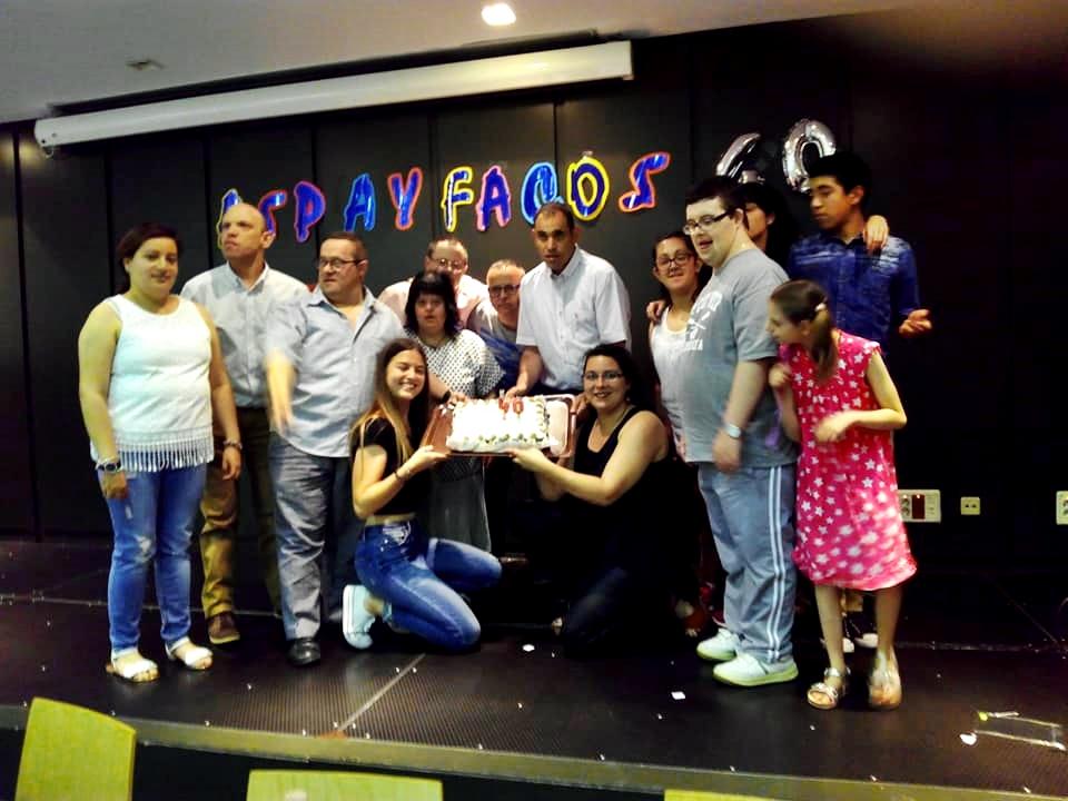 Aspayfacos celebra el seu 40è aniversari