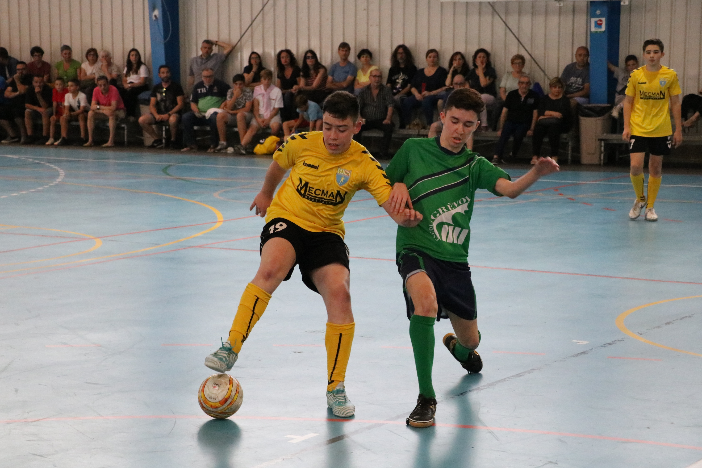 El FS Unión Llagostense va organitzar amb èxit la Final Four de la Copa Catalunya