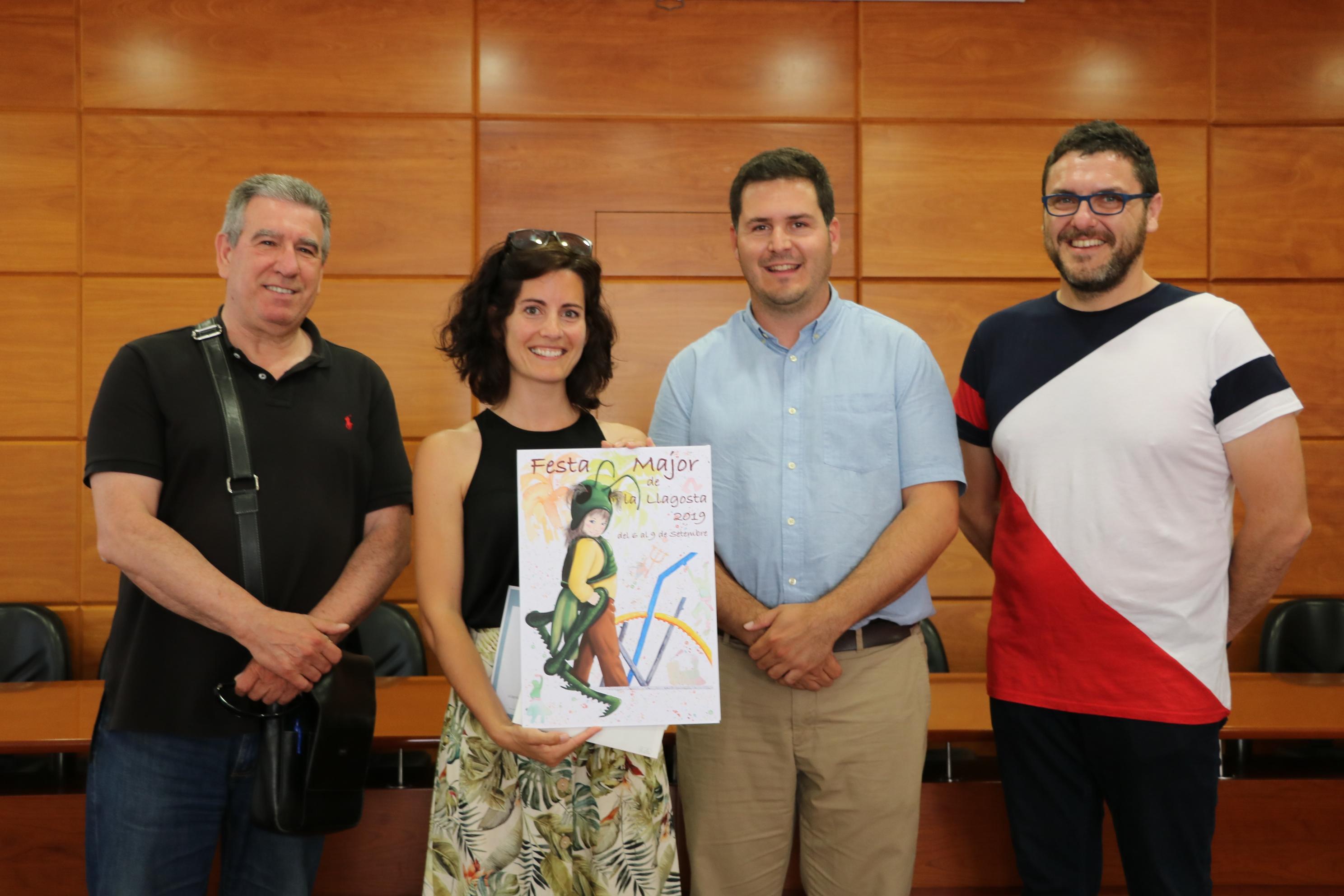 Irene González guanya el Concurs de cartells de la Festa Major 2019