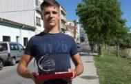 Álex Pacheco guanya el Campionat d'Espanya cadet de futbol americà i és escollit el jugador més valuós de la final