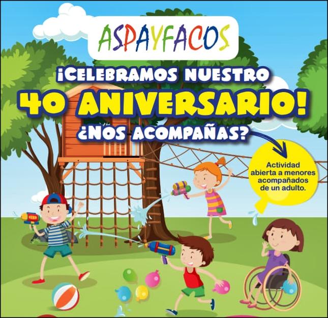 Aspayfacos fa avui una festa per celebrar els seus 40 anys
