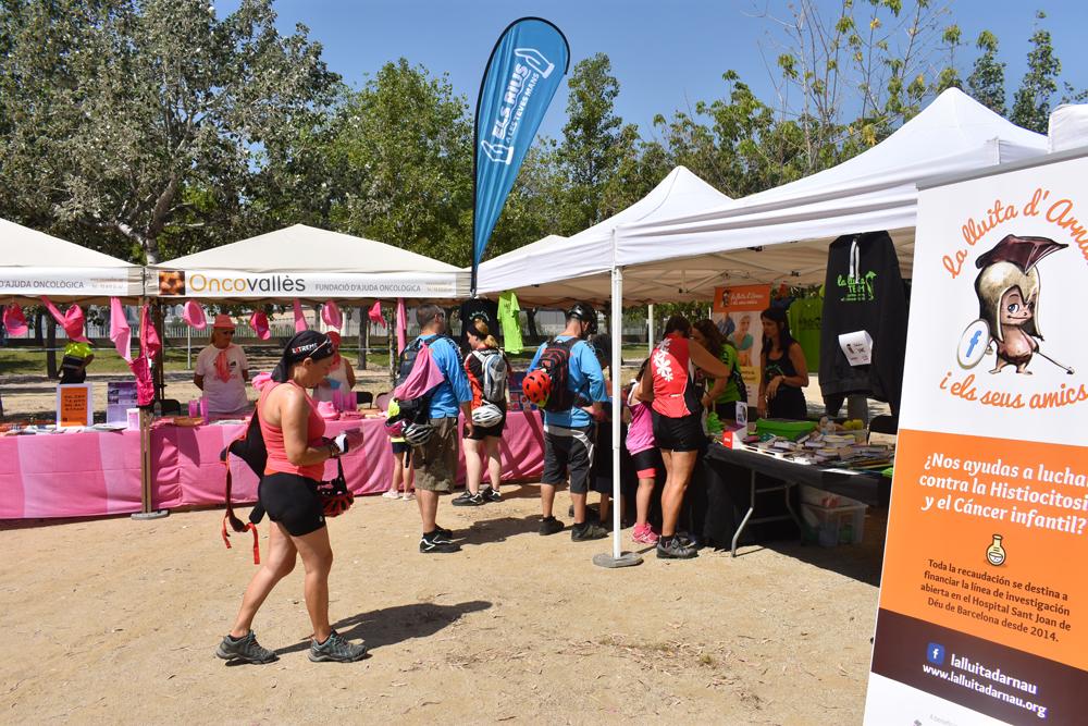 La Bicicletada del Besòs recapta 8.500 euros per a la lluita contra el càncer