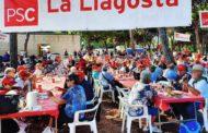 Més de 220 veïns i veïnes de la Llagosta, a la Festa de la Rosa del PSC