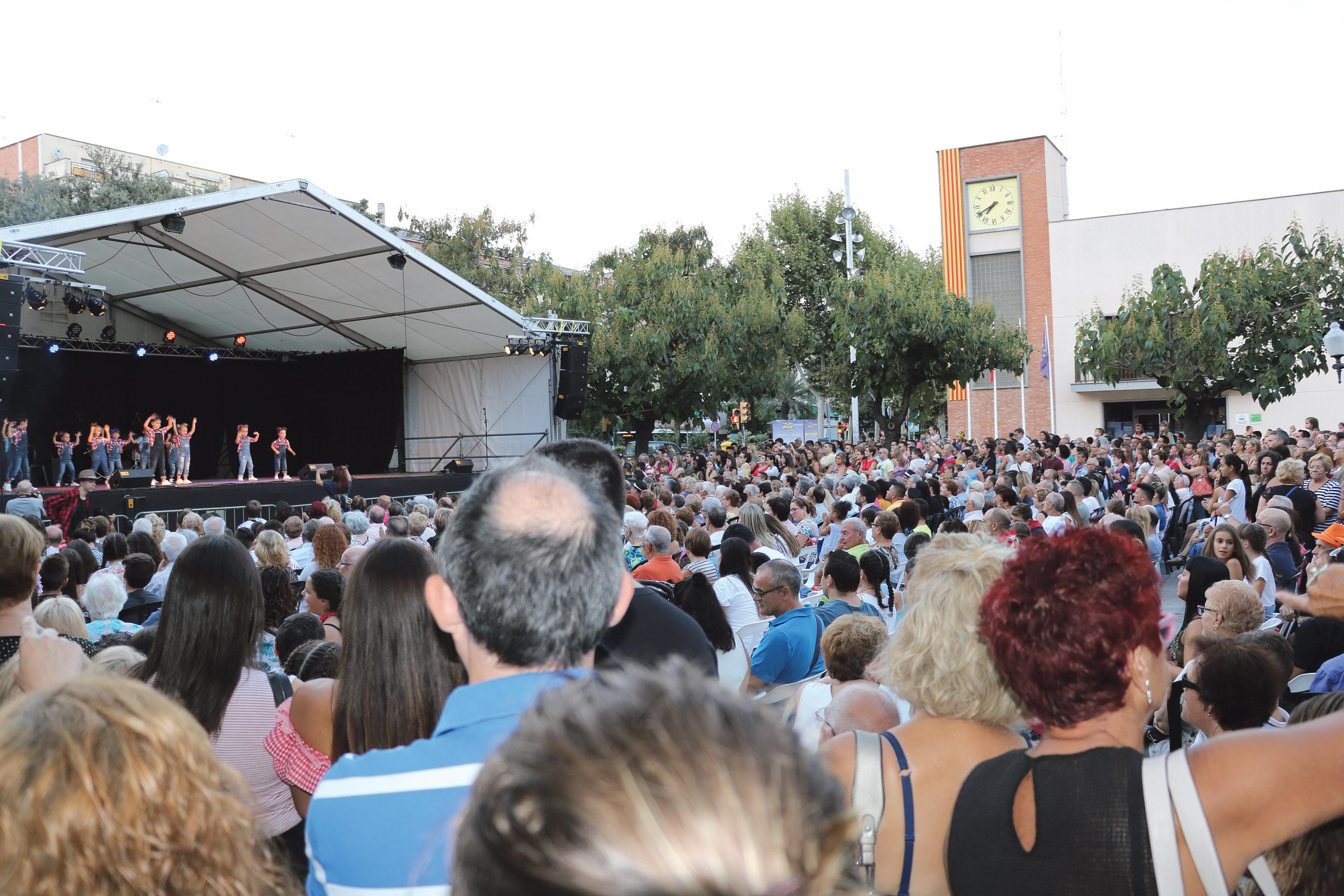 Tot a punt per a una nova edició de la Festa Major de la Llagosta