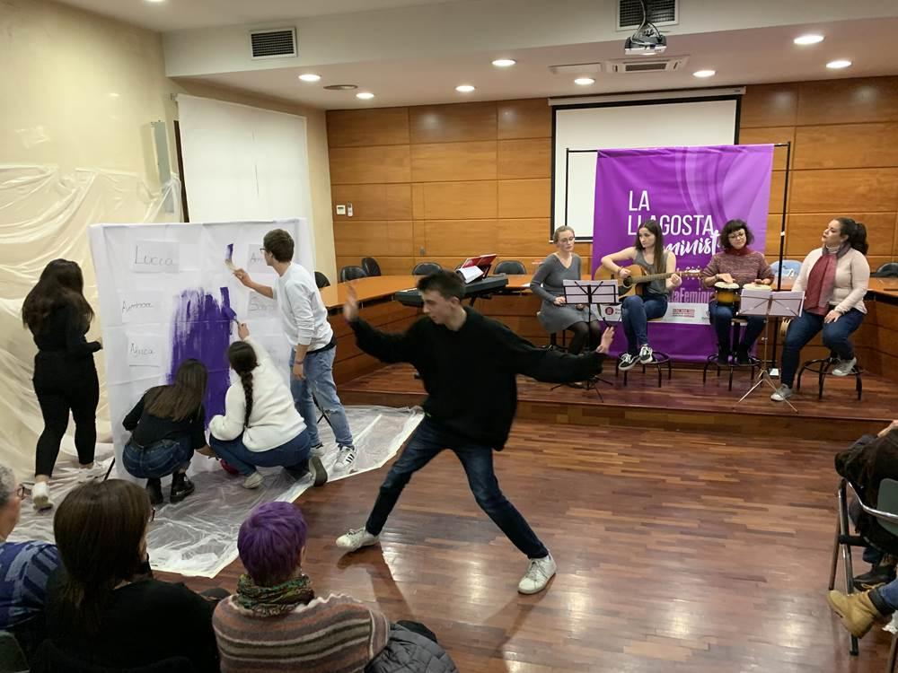 La Llagosta commemora el Dia Internacional de lluita per a l'eliminació de les violències masclistes