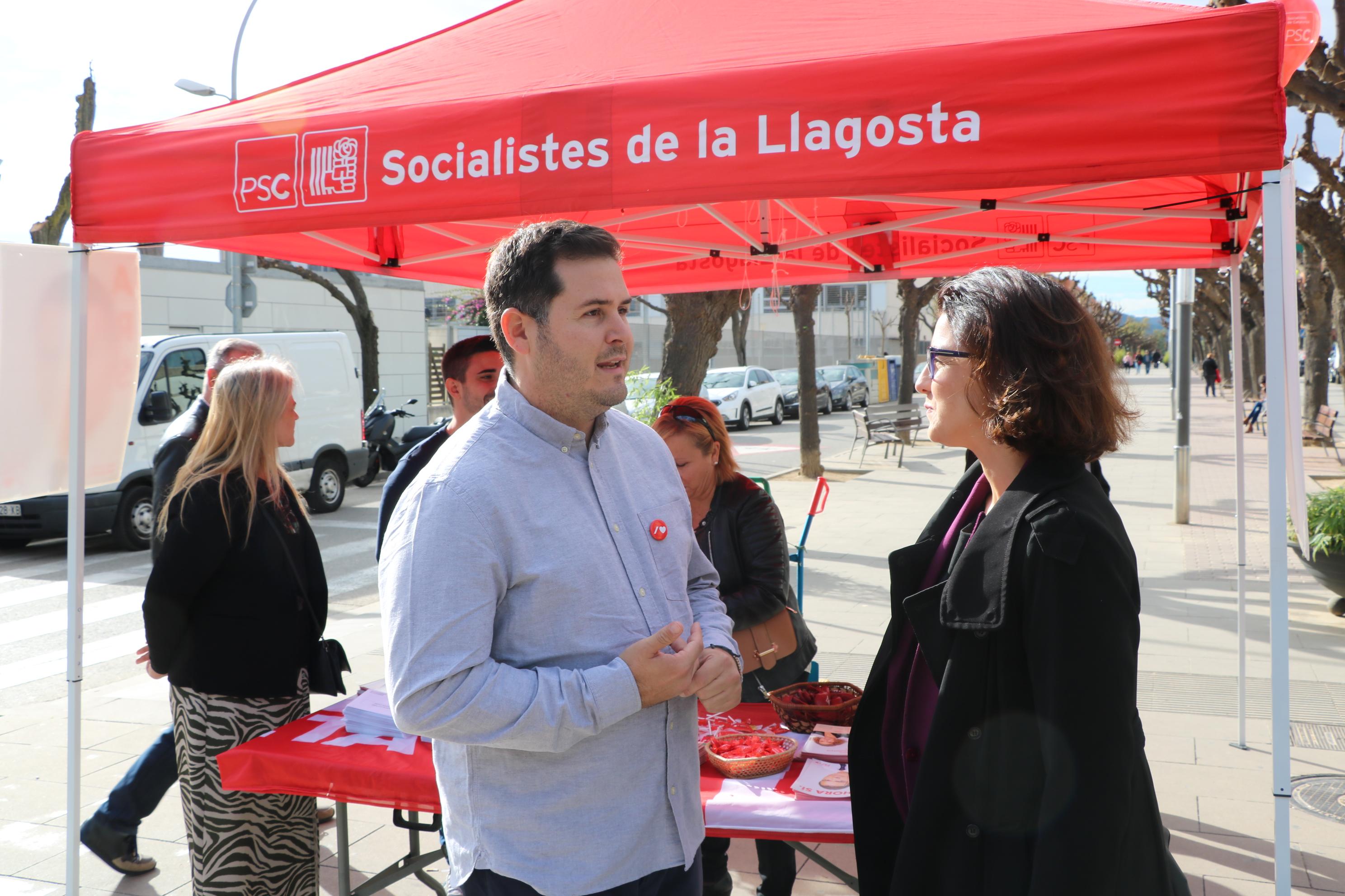 La diputada Eva Granados demana als socialistes llagostencs que diumenge vagin a votar