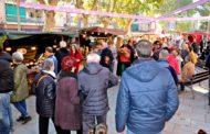 Força visitants a la Fira Medieval de la Llagosta durant el cap de setmana