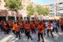 Més de 350 persones van participar en la Zumba Gegant