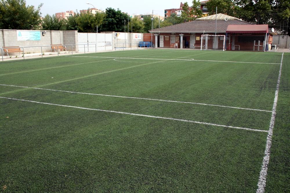 L'Ajuntament posarà llums al camp de futbol 7