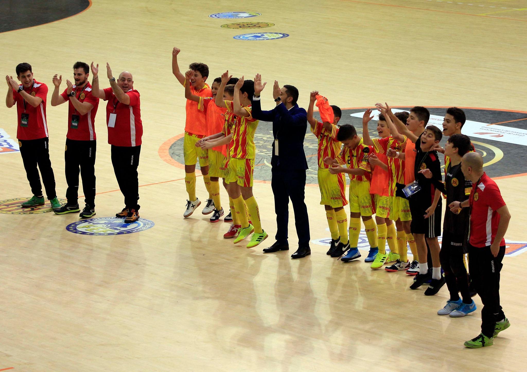 Catalunya, amb Iván Rodríguez i Dario González, és sisena del Mundial sub-13 de futbol sala a Reus