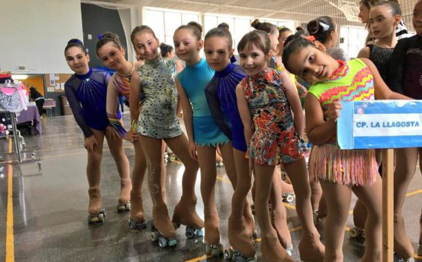 Laia Carrera, del Club Patí, tercera al Trofeu Charlie Rivel de patinatge artístic a Cubelles
