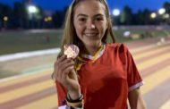 Iris Gracia i Alejandro Muñoz, medallistes al Campionat de Catalunya de Tardor d'atletisme