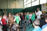 Alumnat de l'Escola Joan Maragall participa en una jornada d'inclusió esportiva