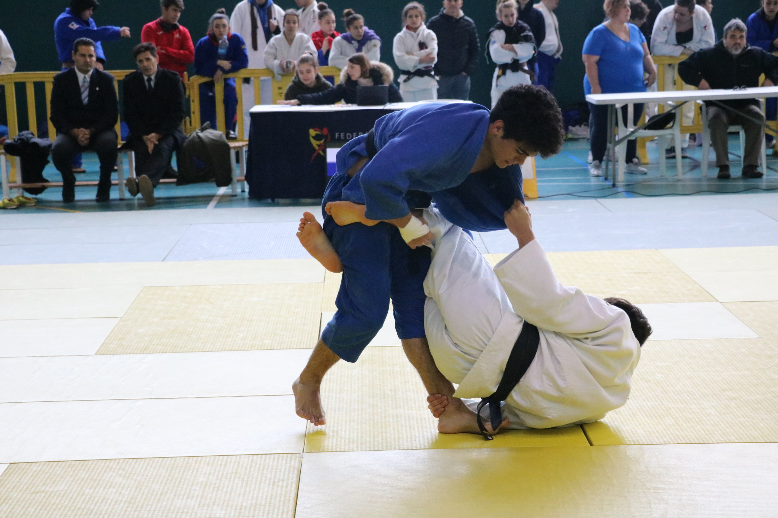 Ainhoa Cortés, medalla de plata en el Campionat de Catalunya júnior de judo