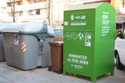 Humana va recollir 36 tones de tèxtil usat a la Llagosta durant el 2019