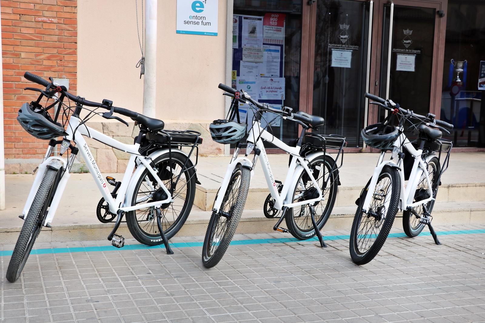 L'Ajuntament de la Llagosta disposa de tres bicicletes elèctriques