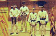 Samuel García, de l'AE Karate-Judo, subcampió de Catalunya infantil de judo