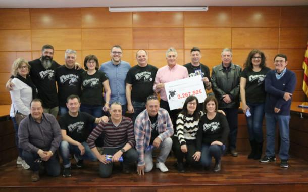 La Murga lliura els diners per a la investigació de l'ELA