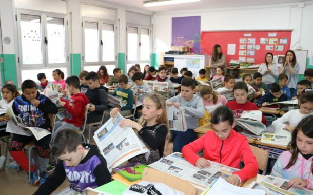 Els alumnes de 4t de la Safa reben el 08centvint de març