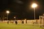 L'Ajuntament ja ha instal·lat els llums del camp de futbol 7