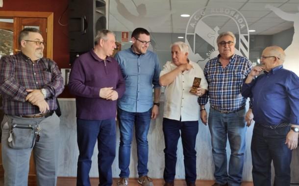 140 persones participen al dinar del Dia del soci d'Alborada