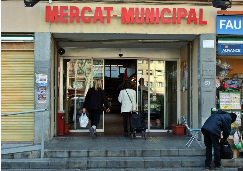 Es controlarà l'accés al Mercat Municipal per evitar aglomeracions
