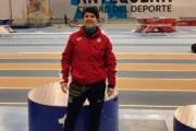 Sonia Bocanegra, vuitena classificada dels 60 metres llisos a l'estatal màster d'atletisme