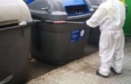 El Consorci de Residus desinfecta contenidors a la Llagosta