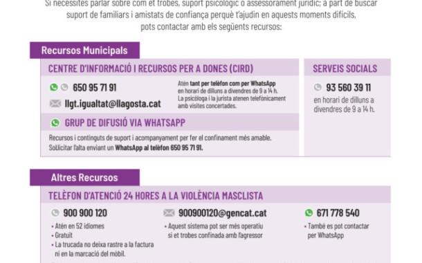 L'Ajuntament posa a disposició de dones maltractades una guia