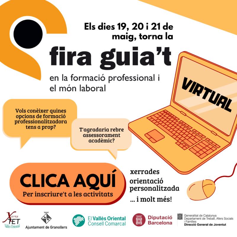 La Fira Guia't se celebrarà de forma virtual del 19 al 21 de maig