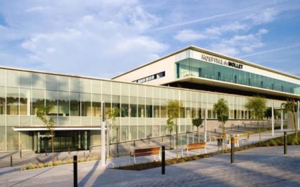 L'Hospital de Mollet es manté sense cap ingrés per la Covid-19
