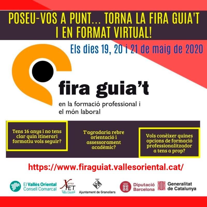 Comença la Fira Guia't 2020 en format virtual