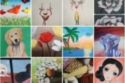 Una seixantena de pintures a l'exposició virtual