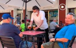 [Vídeo] Reobren algunes terrasses de la Llagosta amb la fase 1
