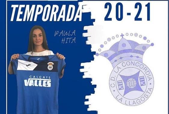 Paula Hita, primer fitxatge del CD La Concòrdia 20-21