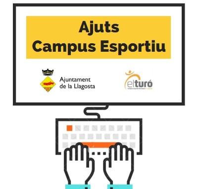 L'Ajuntament ja ha obert les sol·licituds d'ajuts per al Campus Esportiu