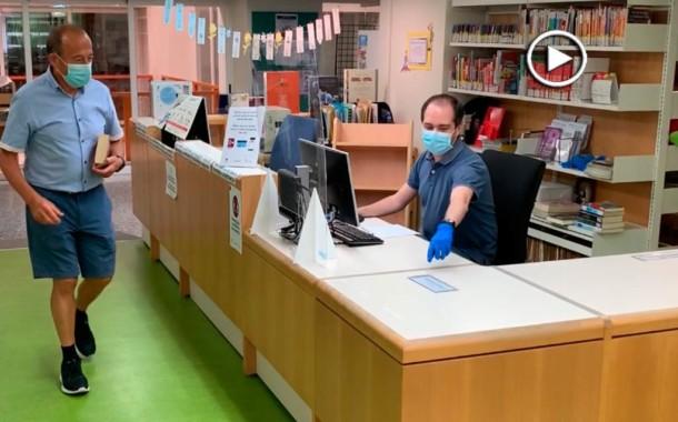 [Vídeo] La Biblioteca de la Llagosta reobre amb cita prèvia